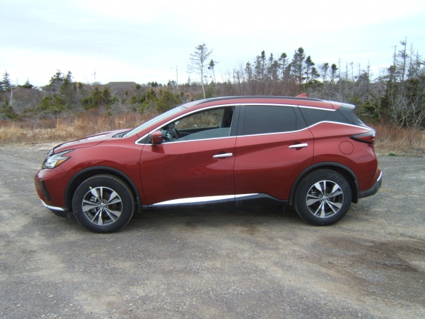 2019 Nissan Murano Sv, Awd Photo 1